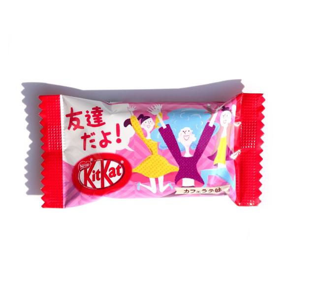 Шоколадний батончик Kit Kat Mini Cafe Latte Chocolate 14 g