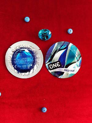 Презервативы ONE Fresh Mint (ароматизированные) (по 1 шт)