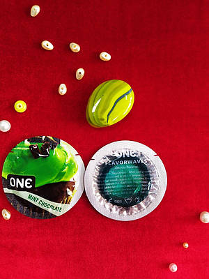 Презервативы ONE Mint Chocolate (ароматизированные) (по 1 шт)