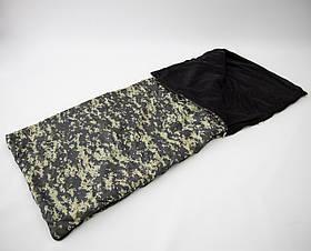 Спальный мешок (спальник) одеяло с флисом Осень-Весна OSPORT Tourist Lite Камуфляж (ty-0010)