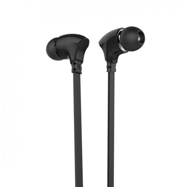 Дротові навушники з мікрофоном Celebrat G3 чорний 166006