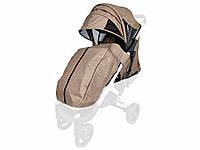 Текстиль для колясок Yoya Plus Бежевий Водонепроникний універсальний моделей Plus Premium Plus Pro Plus