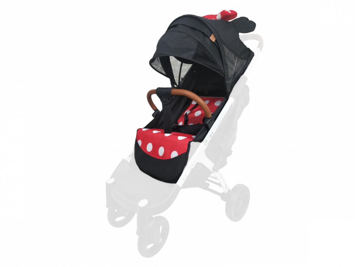 Текстиль для колясок Yoya Plus Мінні універсальний моделей Plus Premium Plus Pro Plus Max Plus 2, 3, 4