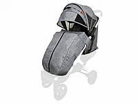 Текстиль для колясок Yoya Plus Сірий Водонепроникний універсальний моделей Plus Premium Plus Pro Plus, фото 1