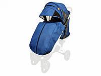 Текстиль для колясок Yoya Plus Синій Водонепроникний універсальний моделей Plus Premium Plus Pro Plus, фото 1