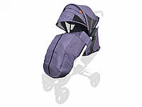 Текстиль для колясок Yoya Plus Фіолетовий Водонепроникний універсальний моделей Plus Premium Plus Pro,