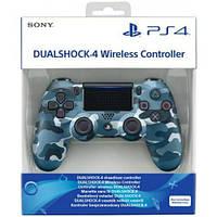 Джойстик геймпад Sony PS 4 DualShock 4 Wireless Controller Blue Camouflage джойстик пс4 ( голубой камуфляж )
