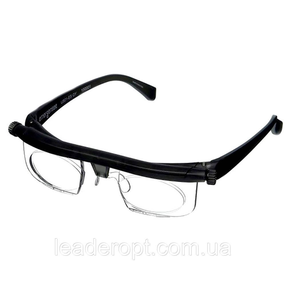 ОПТ Очки с регулировкой линз Dial Vision для зрения стильные очки диал визион универсальные очки для зрения