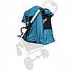 Текстиль для колясок Yoya Plus Изумрудный универсальный моделям Plus Premium, Plus Pro, Plus Max, Plus 2, 3, 4, фото 4
