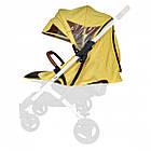 Текстиль для колясок Yoya Plus Желтый Водонепроницаемый универсальный моделям Plus Premium, Plus Pro, Plus, фото 2