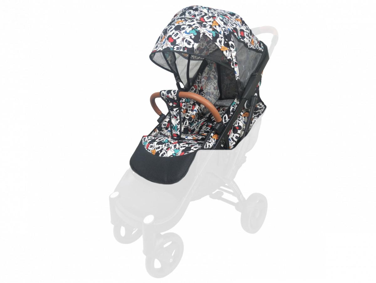 Текстиль для колясок Yoya Plus Дисней Водонепроницаемый  универсальный моделям Plus Premium, Plus Pro, Plus