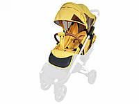 Текстиль для колясок Yoya Plus Жовтий Водонепроникний універсальний моделей Plus Premium Plus Pro Plus, фото 1