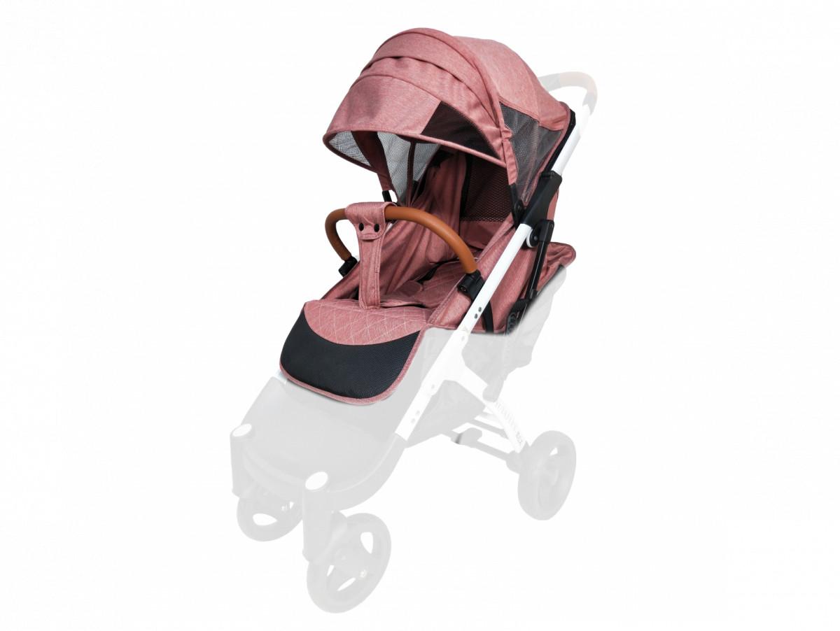 Текстиль для колясок Yoya Plus Пурпурно-розовый Водонепроницаемый  универсальный моделям Plus Premium, Plus