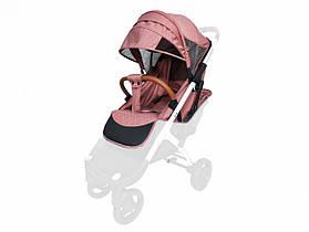 Текстиль для колясок Yoya Plus Пурпурно-рожевий Водонепроникний універсальний моделей Plus Premium Plus