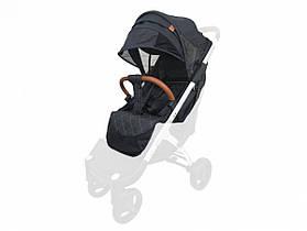 Текстиль для колясок Yoya Plus Чорний Водонепроникний універсальний моделей Plus Premium Plus Pro Plus