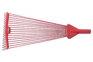 Грабли веерные ТМЗ - 18 прутьев цветные (1005), (Оригинал)