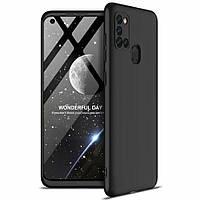 Чехол GKK 360 для Samsung Galaxy A21s 2020 / A217F Бампер оригинальный Black