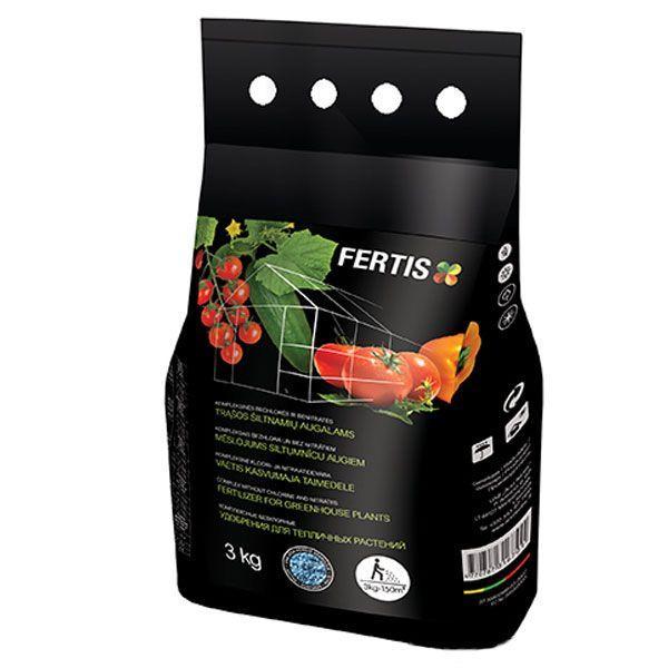 Добриво для тепличних культур NPK 12-8-16+ME (3 кг), FERTIS