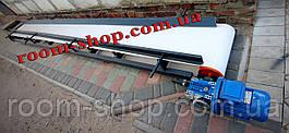 Стрічковий транспортер, з харчовою плівкою, конвеєр. ширина 400 мм, стрічковий конвеєр, харчова стрічка, фото 3