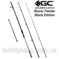 Фидерное удилище 3.6 м тест до 200 гр GC Bionic Feeder Black Edition