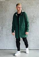 Куртка-дождевик Staff go green зелёный JBR0016