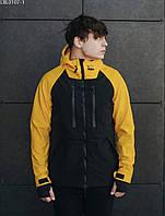 Куртка Staff soft shell kari black & yellow чёрный/желтый LBL0107-1