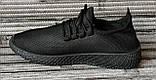 Кроссовки мужские сетка. Фирменные летние кроссовки беговые в стиле Adidas Yeezy Boost. Реплика, фото 6