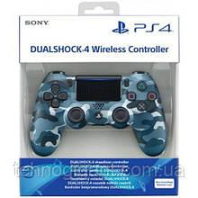 Джойстик геймпад Sony PS 4 DualShock 4 Wireless Controller Blue Camouflage джойстик пс4 ( блакитний камуфляж )