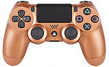 Джойстик Sony PS 4 DualShock 4 Wireless Controller, Безпровідний джойстик для PS4,DualShock 4 Мідний (Репліка), фото 2