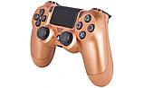 Джойстик Sony PS 4 DualShock 4 Wireless Controller, Безпровідний джойстик для PS4,DualShock 4 Мідний (Репліка), фото 3