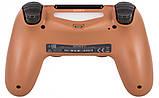 Джойстик Sony PS 4 DualShock 4 Wireless Controller, Безпровідний джойстик для PS4,DualShock 4 Мідний (Репліка), фото 4
