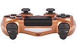 Джойстик Sony PS 4 DualShock 4 Wireless Controller, Безпровідний джойстик для PS4,DualShock 4 Мідний (Репліка), фото 6