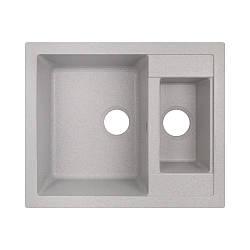 Кухонна мийка Lidz 615x500/200 GRA-09 (LIDZGRA09615500200)