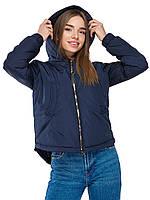 Куртка весняна з асиметричним низом, фото 1