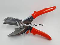 Многоугловые ножиці з ПВХ для різання під кутом 45 - 120 градусів.З змінним лезом, фото 1