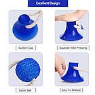 ОПТ Многофункциональная игрушка для собак канат на присоске с мячом, фото 4