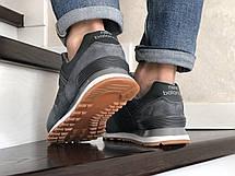 Мужские кроссовки New Balance 574 замшевые,серые, фото 3