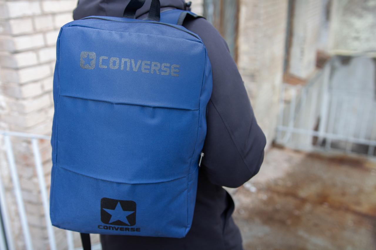 Рюкзак Конверс / Converse, Чоловічий / Жіночий Синій