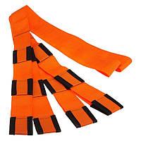 Такелажные ремни для переноски грузов, мебели, коробок (ART 6684) Оранж 4,5см на 2,6м Стяжные ремни