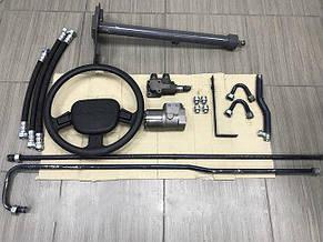 Комплект переобладнання рульового управління Т-150 під насос дозатор (повний комплект), фото 2