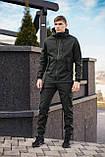 Чоловіча куртка Softshell хакі демісезонна Intruder. + Брендовий Ключниця в подарунок, фото 5
