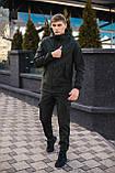 Чоловіча куртка Softshell хакі демісезонна Intruder. + Брендовий Ключниця в подарунок, фото 6