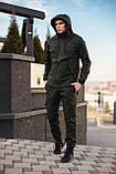 Чоловіча куртка Softshell хакі демісезонна Intruder. + Брендовий Ключниця в подарунок, фото 9