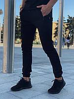 Штаны брюки мужские весенние осенние модные стильные котоновые черные Intruder Chesst, фото 1