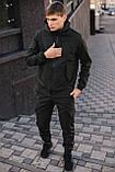 Мужской костюм Softshell хаки демисезонный Intruder. Куртка мужская , штаны утепленные + Ключница, фото 2