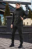 Мужской костюм Softshell хаки демисезонный Intruder. Куртка мужская , штаны утепленные + Ключница, фото 3