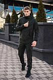 Мужской костюм Softshell хаки демисезонный Intruder. Куртка мужская , штаны утепленные + Ключница, фото 4