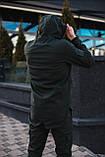 Мужской костюм Softshell хаки демисезонный Intruder. Куртка мужская , штаны утепленные + Ключница, фото 6