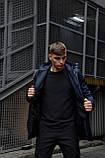 """Куртка мужская синяя черная Softshell демисезонная """"Citizen"""" Intruder осенняя весенняя на флисе+Ключница, фото 5"""