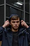"""Куртка мужская синяя черная Softshell демисезонная """"Citizen"""" Intruder осенняя весенняя на флисе+Ключница, фото 7"""